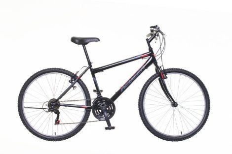 """Neuzer Nelson 18 férfi 19"""" MTB kerékpár Fekete-Piros"""