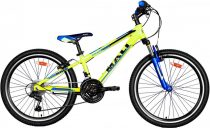Mali Master 24 gyermek kerékpár Sárga