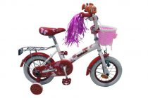 Mali Fairy 12 gyermek kerékpár Fehér