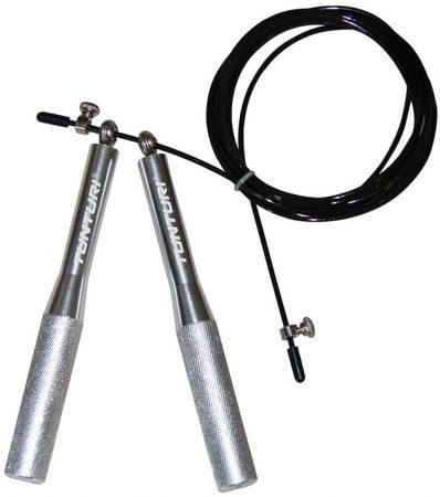 Tunturi acél állítható hosszúságú ugráló kötél, alu fogantyú