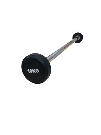 Fix kétkezes egyenes rudas kézisúlyzó készlet 10-30 kg (5 db)