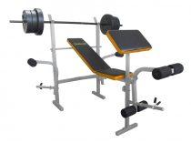 Robust Active súlyzóspad + rúd + 35 kg súly