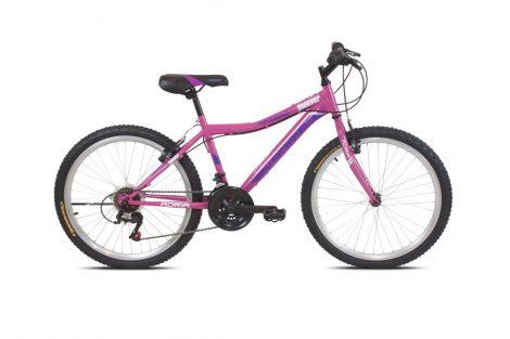 """Adria Stinger 24"""" gyerek kerékpár Rózsaszín"""