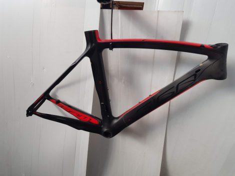 Siga Aero országúti karbon váz 52 cm vázmérettel fekete-piros