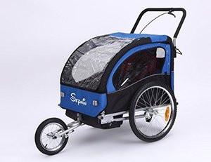 Velostar gyermek csomag és jogging utánfutó kék