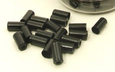 Alhonga 5 mm réz fékbowdenház vég fekete