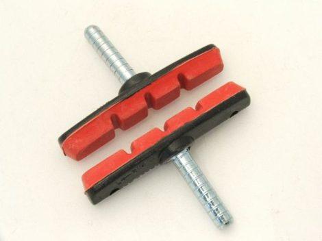 Alhonga MTB 70 mm fékpofa piros