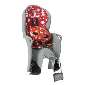 Hamax Kiss gyerekülés vázra sisakkal szürke-piros