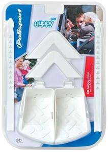Polisport Guppy Set Maxi lábtartó és kartámasz fehér
