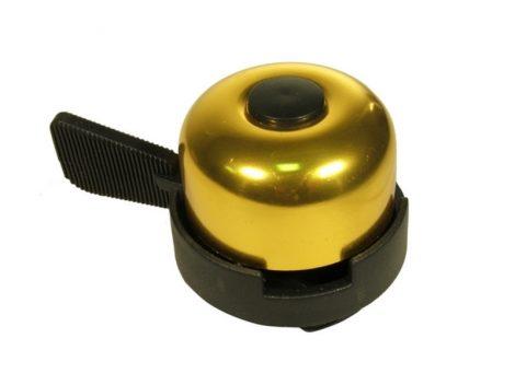 Velostar 30 mm acél-műanyag csengő arany