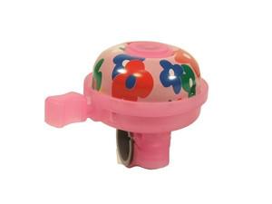 Velostar 30 mm acél-műanyag csengő pink