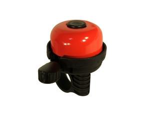 Velostar 40 mm acél műanyag csengő piros