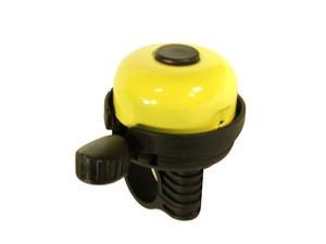 Velostar 40 mm acél műanyag csengő sárga