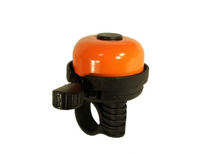Velostar 40 mm acél műanyag csengő narancssárga