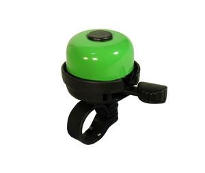 Velostar 40 mm acél műanyag csengő zöld
