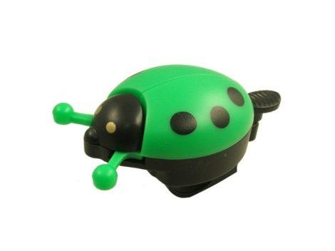Velostar gyermek katica csengő zöld