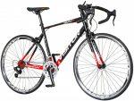 Visitor Revolt férfi országúti kerékpár  Fekete