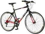 Visitor Revolt férfi fitness kerékpár Fekete