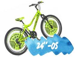 24colos gyerek kerékpár