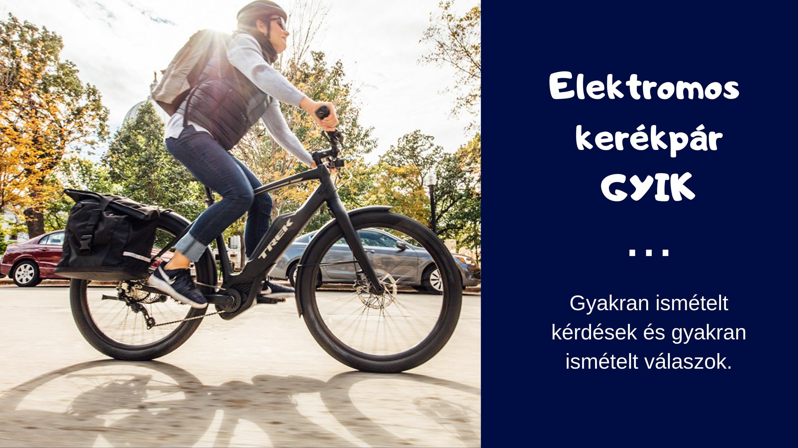 elektromos kerékpár gyakori kérdések