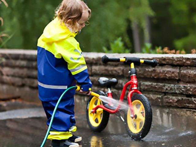 Kerékpár tisztítás