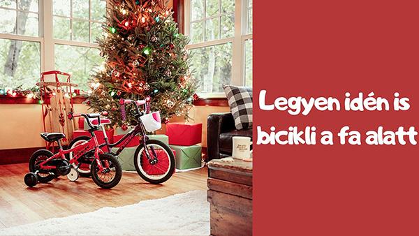 gyerek kerékpár karácsonyra