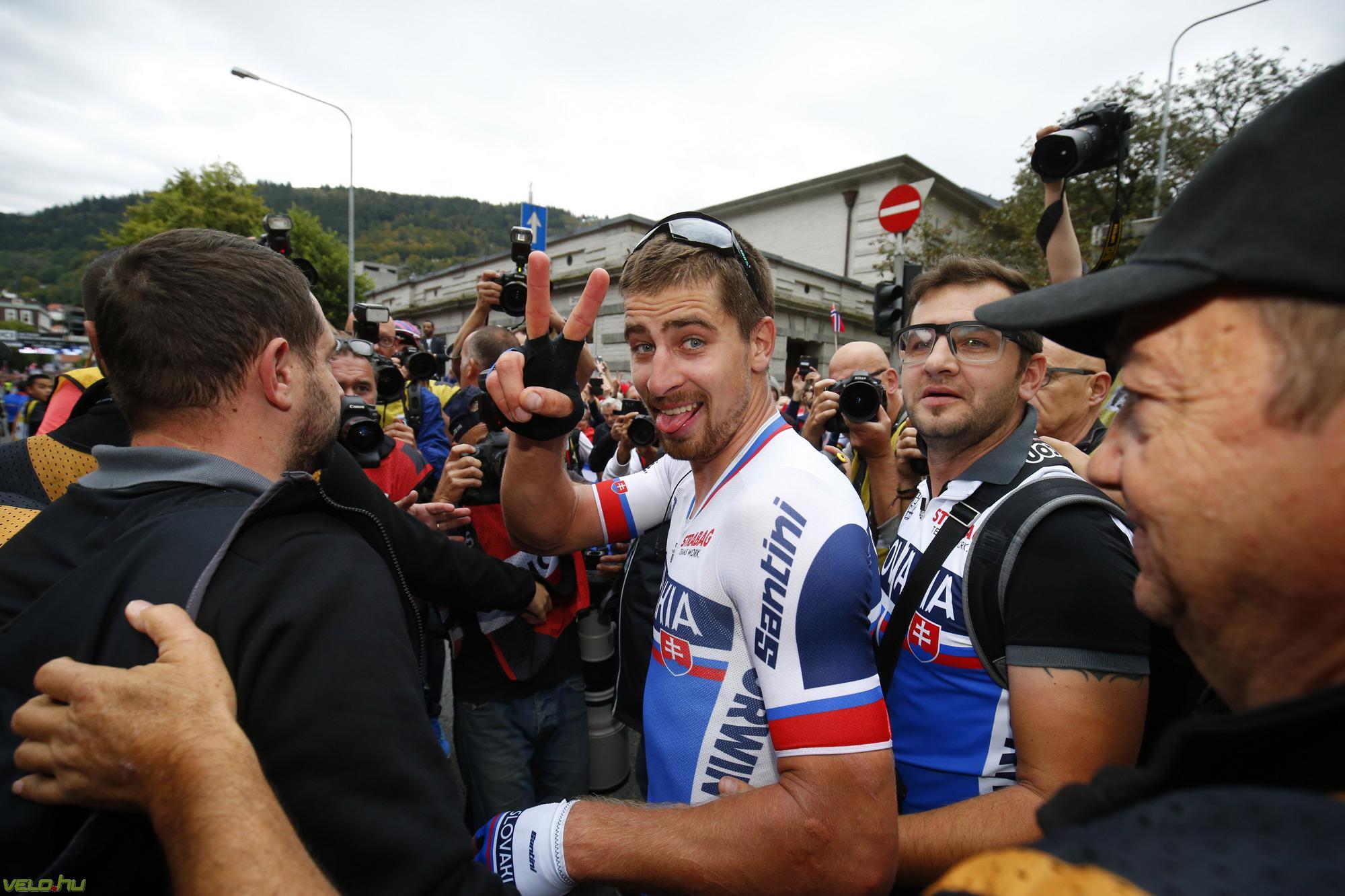 Peter Sagan ismét világbajnok!