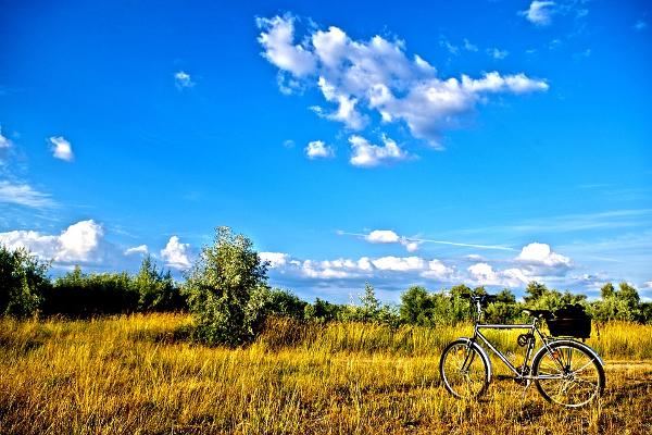 Tiszta-tó kerékpárral