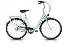 kék női Kellys kerékpár