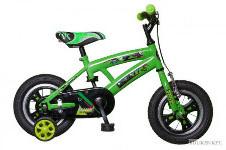 zöld fiú gyerek bicikli