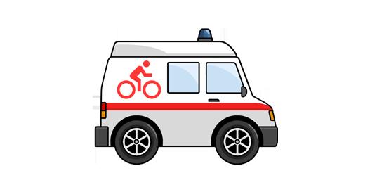 Kerékpár mentő csepelen